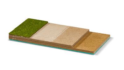 Système accéléré de préparation de support pour touts les sols souples, pour utilisation intensive