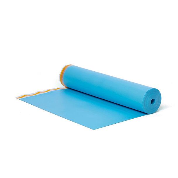 BlueFloor® is een loopgeluid en contactgeluidreducerende ondervloer voor o.a. click laminaat.