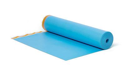 BlueFloor® est un sous-plancher spécialement destiné à atténuer les bruits de pas et réduire le bruit d'impact lorsqu'il est combiné à un sol stratifié.